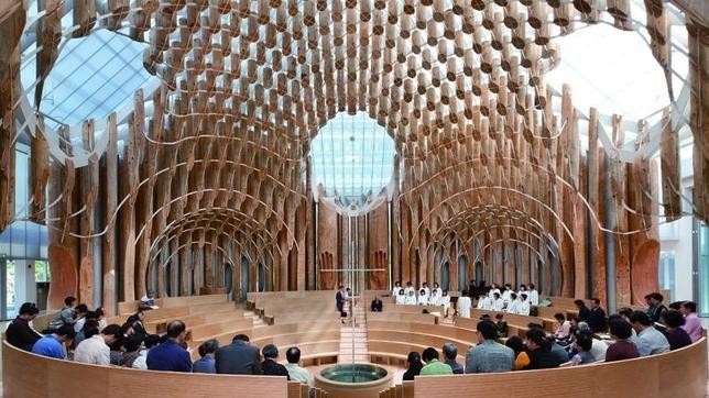 Los cinco edificios religiosos más impresionantes de 2015