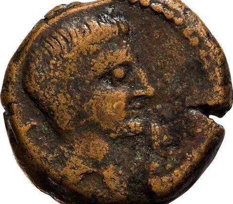 Descubren una moneda inédita emitida por los romanos en la ceca de Segovia