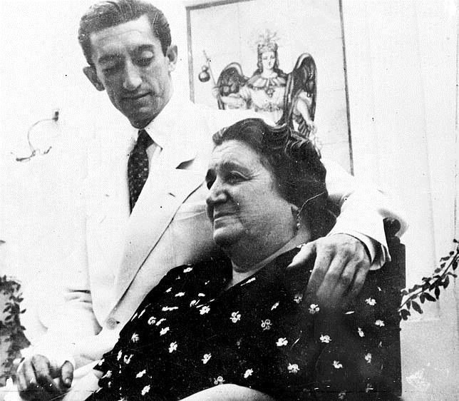 Winston Churchill envió un telegrama de pésame a Doña Angustias, la madre de Manolete