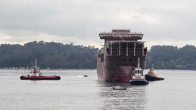 Pemex bota su flotel en Ferrol para «traer más proyectos a Galicia»