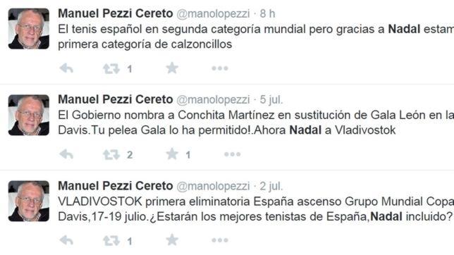 El portavoz del PSOE se burla de Nadal