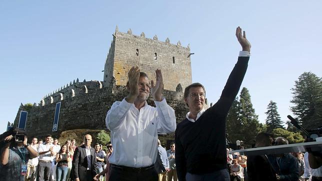 Feijóo: «Rajoy volvió a arrancar España»