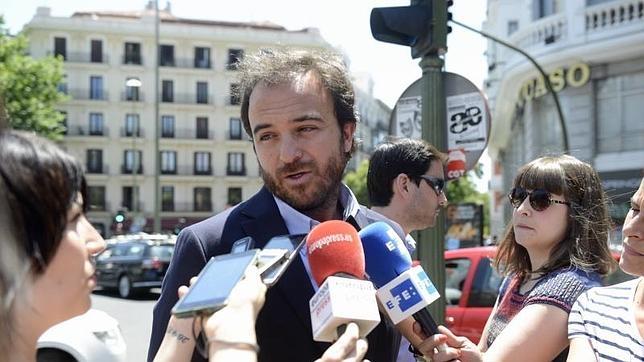El hijo de Núñez Morgades renuncia a su acta de Ciudadanos en la Asamblea de Madrid