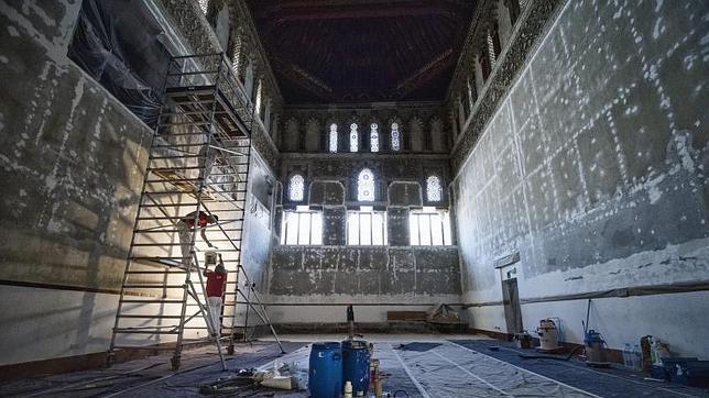 Los muros se han sometido a una profunda limpieza que les ha dado mayor luminosidad