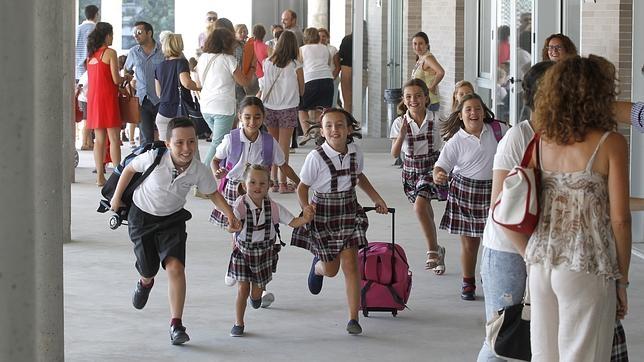 Primer día del Colegio de la Trinidad (Cordoba)