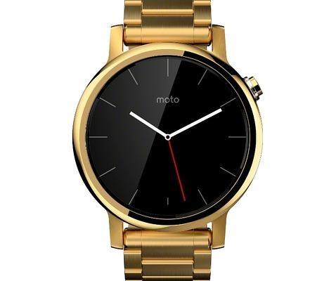El nuevo reloj Moto 360 llega en dos tamaños y varias versiones