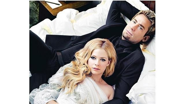 Avril Lavigne Matrimonio In Nero : Avril lavigne y el vocalista de nickelback ponen fin a su