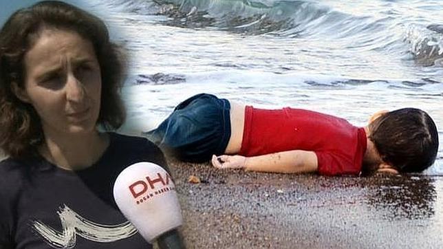 Imagen distribuida por la agencia Dogan, donde trabaja la fotógrafa que hizo la instantanea que ha removido las conciencias ante la crisis de refugiados