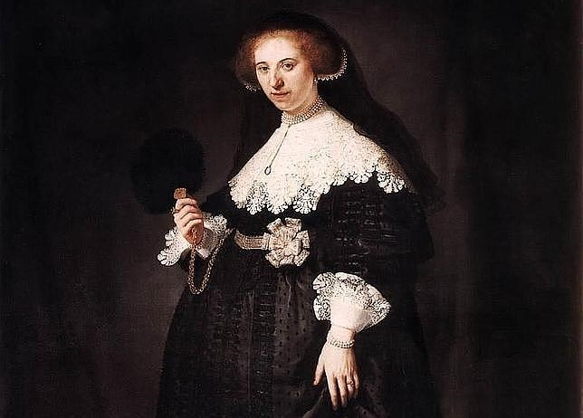 oopjen coppit  644x462 - El Louvre y el Rijksmuseum compartirán los retratos de Marten Soolmans y Oopjen Coppit de Rembrandt