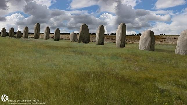 Hallan un nuevo monumento enterrado junto al Stonehenge