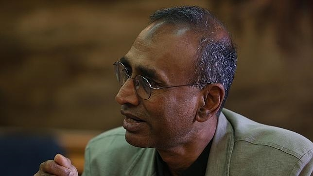 Ramakrishnan, quien estuvo en la sede de la Fundación BBVA, será el nuevo presidente de la Royal Society
