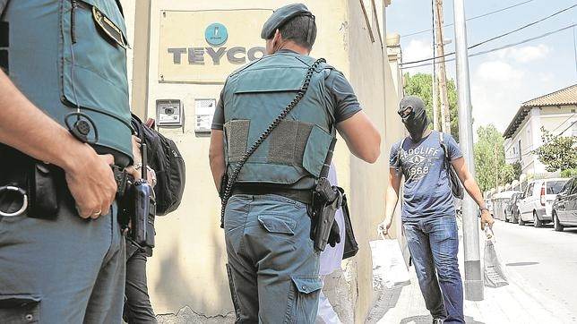 La Guardia Civil registra la sede de Teyco el pasado 23 de julio