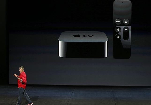La compañía desveló su nuevo modelo de Apple TV, un dispositivo para ver televisión en «streaming»
