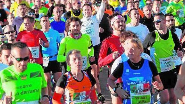 Los coruñeses participan en numerosas carreras populares a lo largo del año