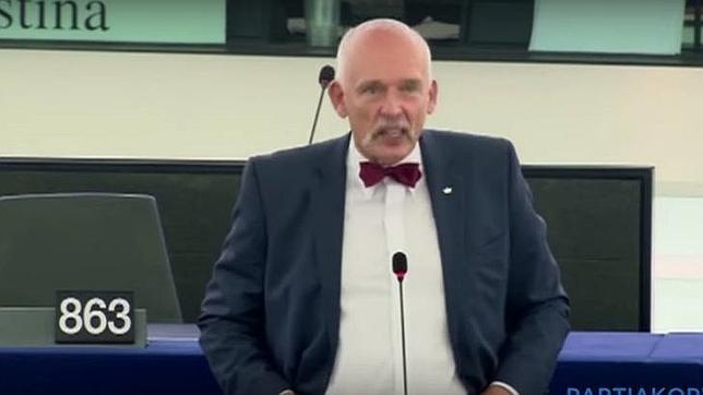 Un eurodiputado polaco califica de «basura humana» a los refugiados