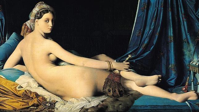 «La Gran Odalisca», del pintor francés Dominique Ingres