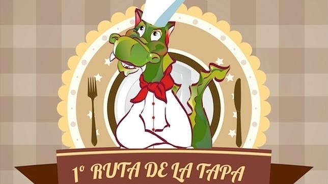 Cartel de la primera ruta de la tapa que se celebrará durante las Fiestas de Lavapiés