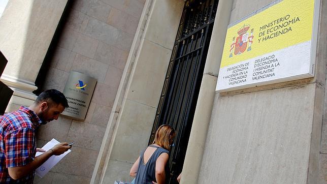 Imagen de la sede central de Hacienda en la Comunidad Valenciana