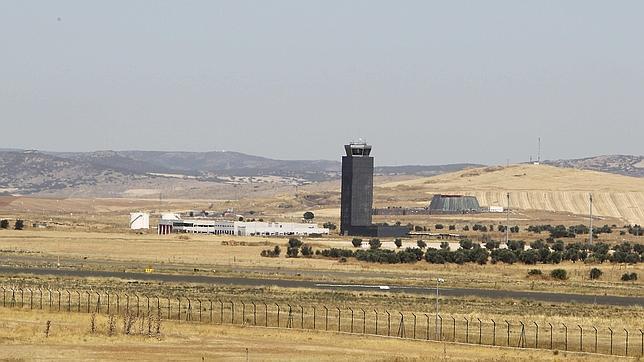 Vista general del aeropuerto de Ciudad Real, sin uso actualmente