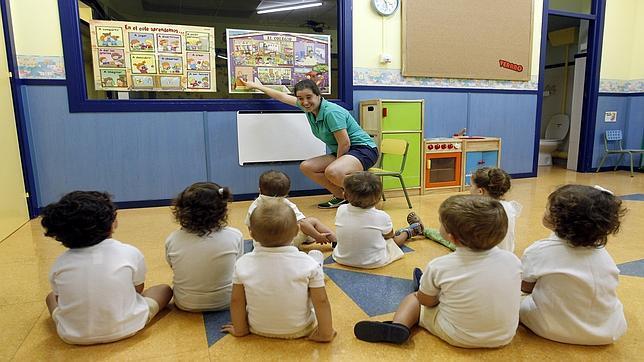 Imagen de archivo de una escuela infantil