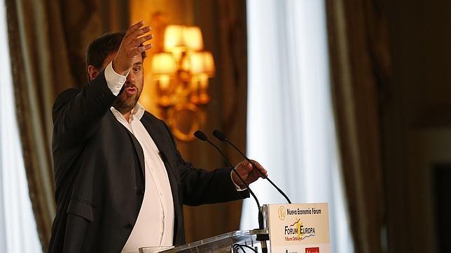 El presidente del ERC y número cinco en la lista de Junts pel Sí, Oriol Junqueras