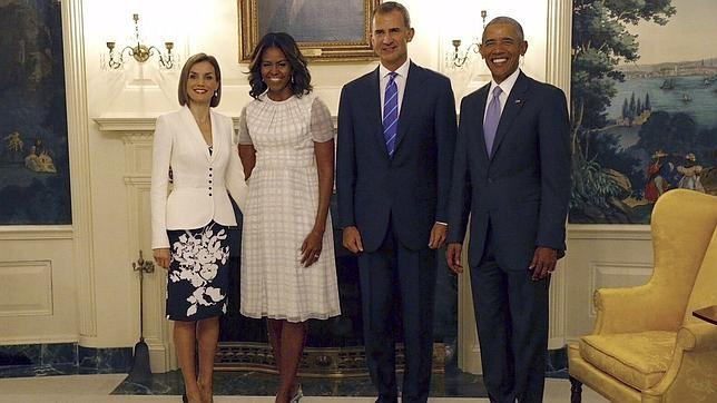 Obama frente al rey queremos una espa a fuerte y unida for Casarse en madrid