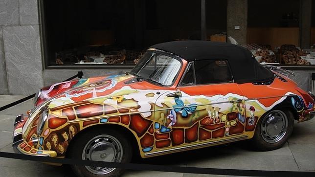 Se subasta el coche psicodélico de Janis Joplin