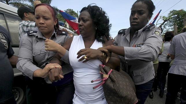 Berta Soler, líder de las Damas de Blanco, detenida el pasado domingo en La Habana | REUTERS
