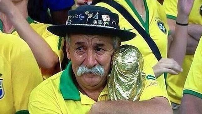 Falleció el hincha más fanático de la Selección de Brasil