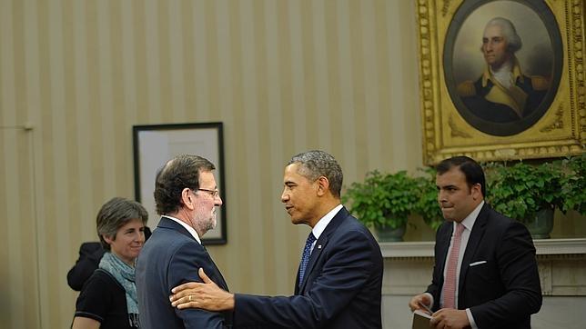 Obama recibió a Rajoy en enero de 2014 en la Casa Blanca
