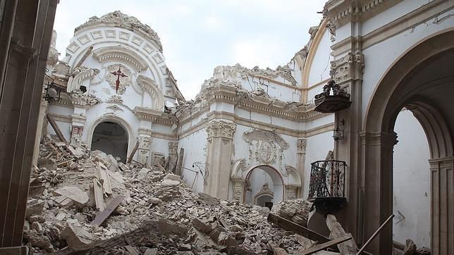 Descenso a la falla que caus el terremoto de murcia para for Estudiar interiorismo murcia