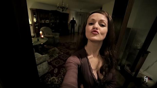 Frame del corto «El selfie del infierno»