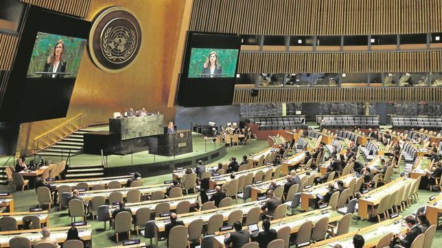 Si Cataluña se independizara, tendría que pedir el reconocimiento de la ONU