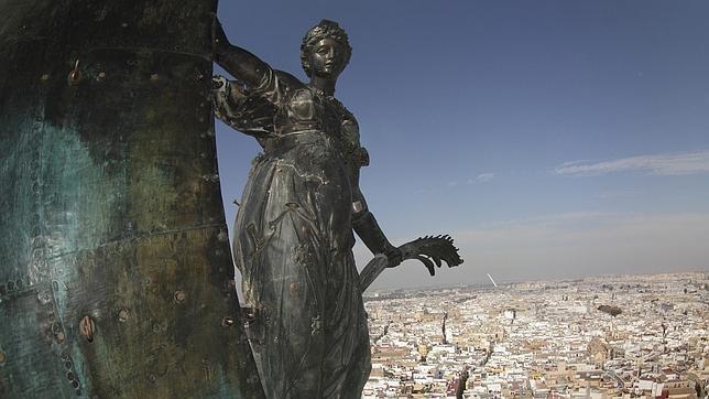 El Giraldillo, ¿una alegoría del poder de  Felipe II?