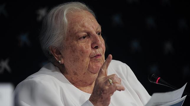 Carmen Balcells, en 2014