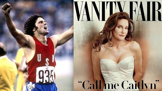A la izquierda, Bruce Jenner. A la derecha, Caitlyn