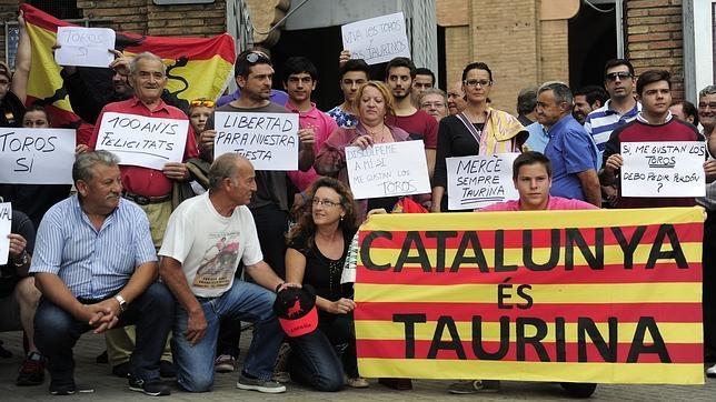Como para hablar de toros en Cataluña...