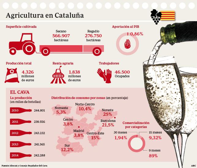 Así es la Agricultura de Cataluña y así sería en la Cataluña independiente (X)