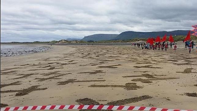 El emotivo homenaje de los irlandeses a los caídos de la Armada Invencible