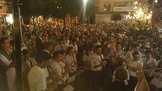Imagen de la Unió Musical de Alaquàs, a la que se prohibió interpretar el himno de España