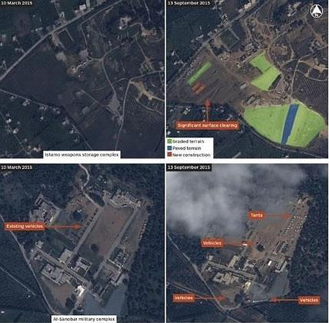 Rusia amplía su presencia militar en Siria con otras dos bases