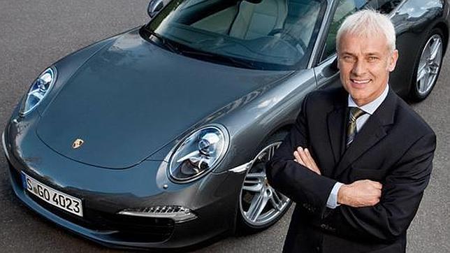 El nombre del directivo de Porsche, Matthias Mueller, suena cada vez más para hacerse cargo del grupo VW