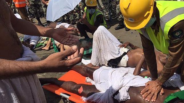 Al menos 453 muertos en una estampida en Mina en la peregrinación a La Meca