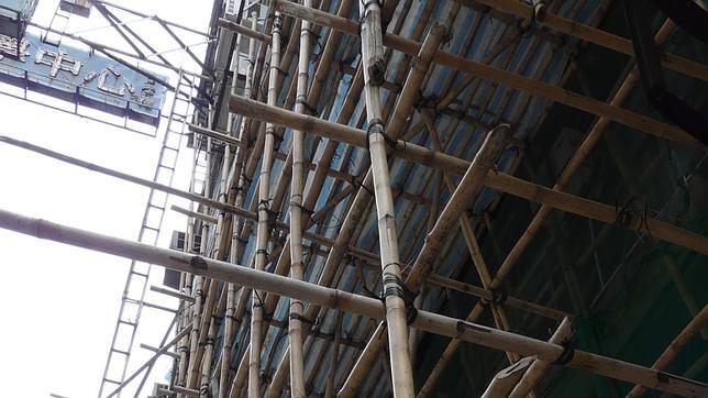 Por qu hong kong sigue utilizando andamios de bamb - Casa de bambu madrid ...