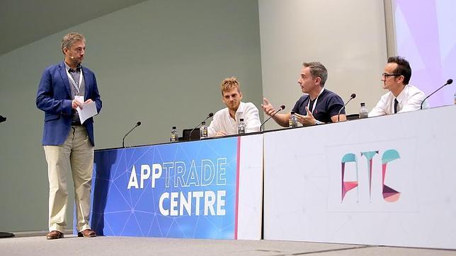 Imagen de una de las ponencias de App Trade Centre