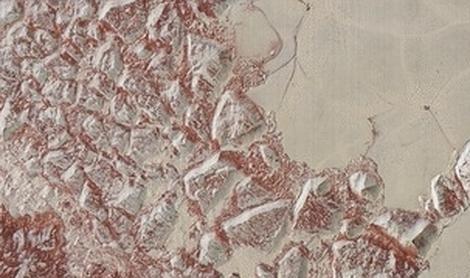La «piel de dragón» de Plutón muestra su lado más alienígena