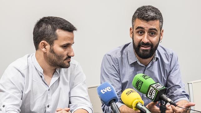 Pere Fuset (a la derecha) en una imagen de archivo