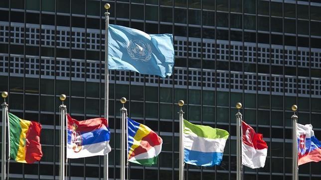 Fachada de la sede de las Naciones Unidas en Nueva York