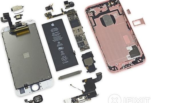 Así son las «tripas» del iPhone 6S