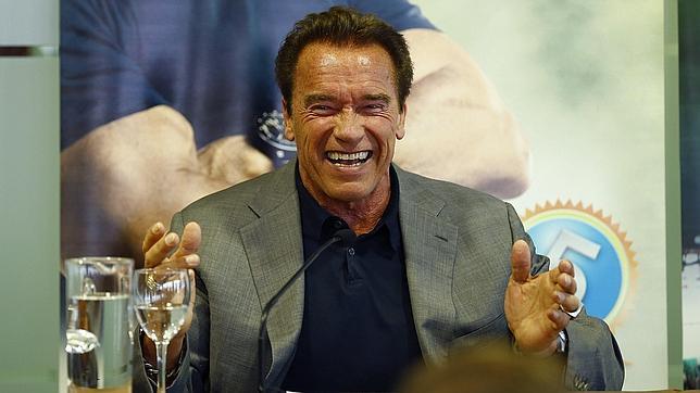 Arnold Schwarzenegger en la presentación de la quinta edición del «Arnold Classic Europe»